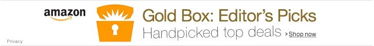 Amazon Gold Box Daily Deals